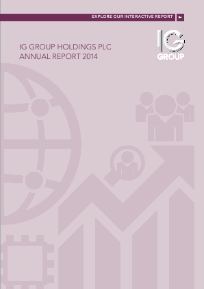 IG Group Holdings annual report 2014
