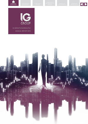 IG Group Holdings annual report 2015