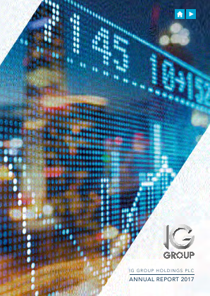 IG Group Holdings annual report 2017