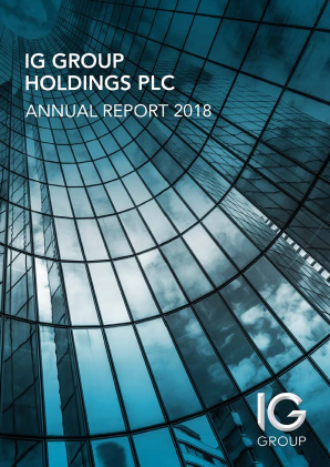 IG Group Holdings annual report 2018