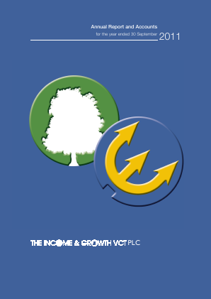 Income & Growth VCT Plc(The) annual report 2011