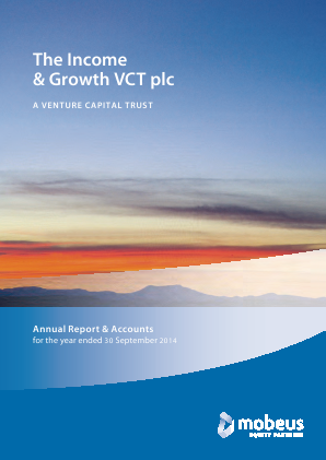 Income & Growth VCT Plc(The) annual report 2014