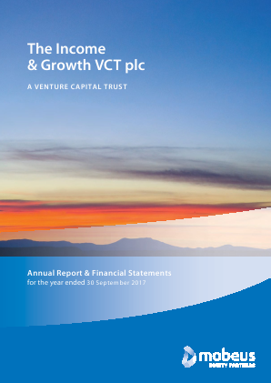 Income & Growth VCT Plc(The) annual report 2017