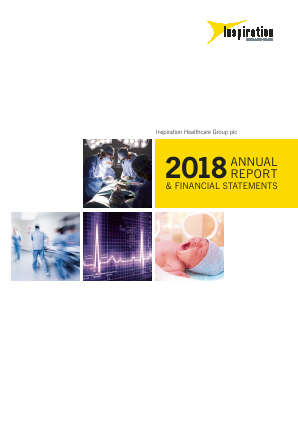 Inspiration Healthcare Group Plc annual report 2018