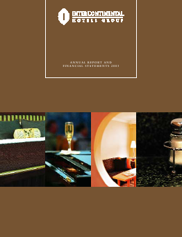 Intercontinental Hotels Group annual report 2003