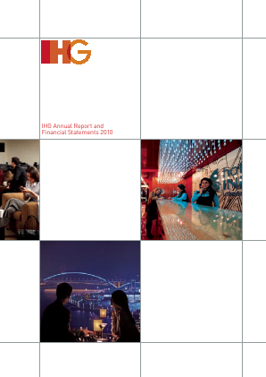 Intercontinental Hotels Group annual report 2010