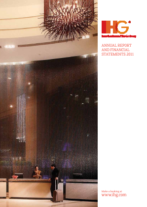 Intercontinental Hotels Group annual report 2011
