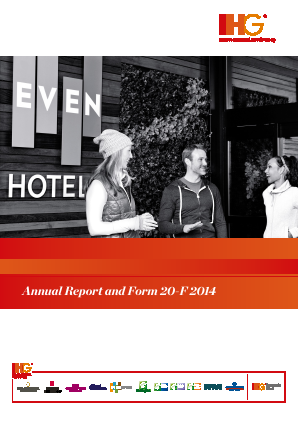 Intercontinental Hotels Group annual report 2014