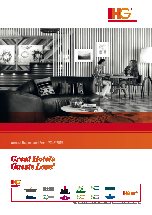 Intercontinental Hotels Group annual report 2015