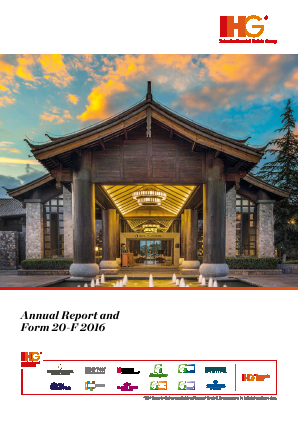 Intercontinental Hotels Group annual report 2016