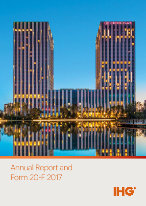 Intercontinental Hotels Group annual report 2017
