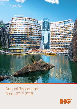 Intercontinental Hotels Group annual report 2018