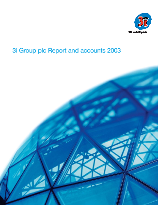 3i Group annual report 2003