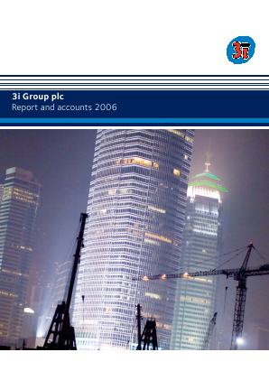 3i Group annual report 2006