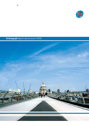 3i Group annual report 2008
