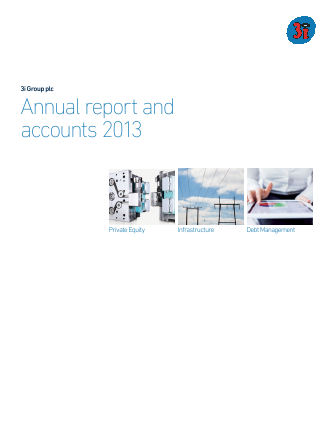 3i Group annual report 2013