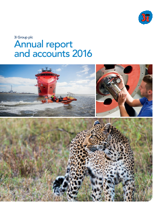3i Group annual report 2016