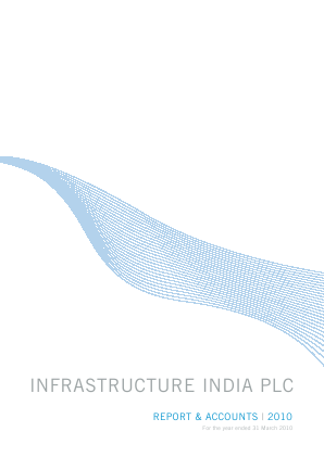 Infrastructure India Plc annual report 2010