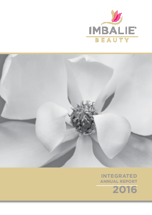 Imbalie Beauty annual report 2016