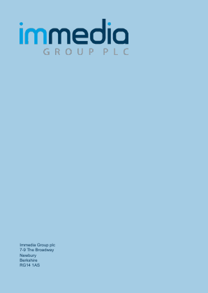 Immedia Group Plc annual report 2017