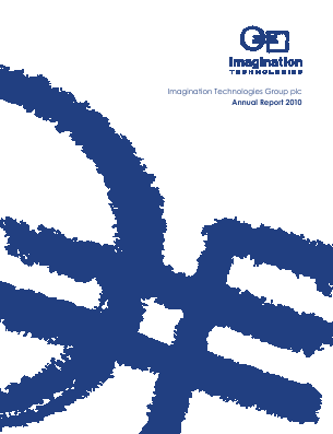 Imagination Technologies Group annual report 2010