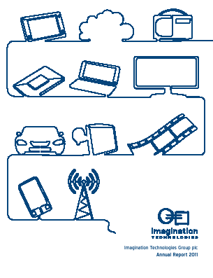 Imagination Technologies Group annual report 2011