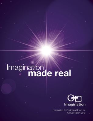 Imagination Technologies Group annual report 2012