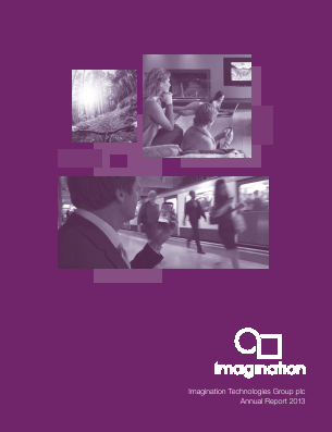 Imagination Technologies Group annual report 2013