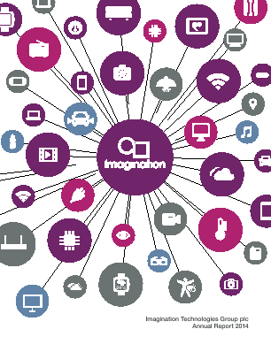Imagination Technologies Group annual report 2014