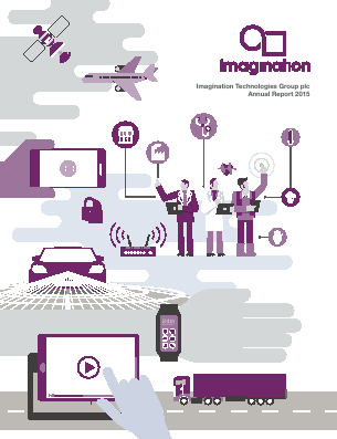 Imagination Technologies Group annual report 2015