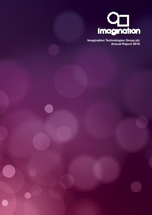 Imagination Technologies Group annual report 2016