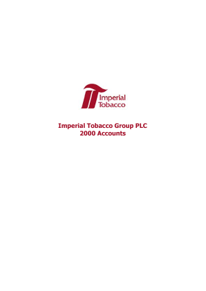 Imperial Brands Plc annual report 2000