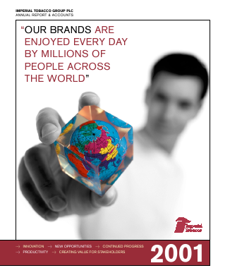 Imperial Brands Plc annual report 2001