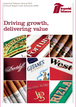 Imperial Brands Plc annual report 2008