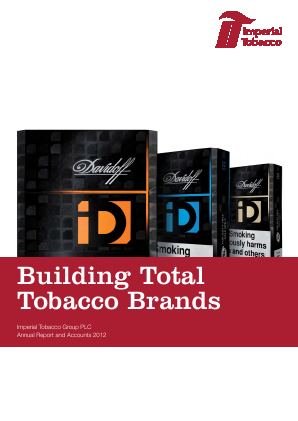 Imperial Brands Plc annual report 2012