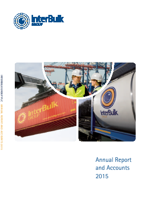 Interbulk Group Plc annual report 2015