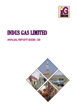 Indus Gas annual report 2009