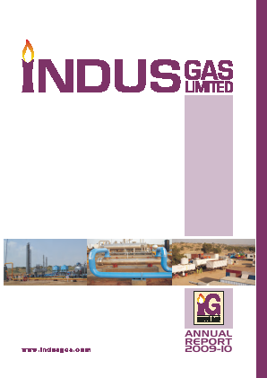 Indus Gas annual report 2010
