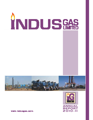 Indus Gas annual report 2011