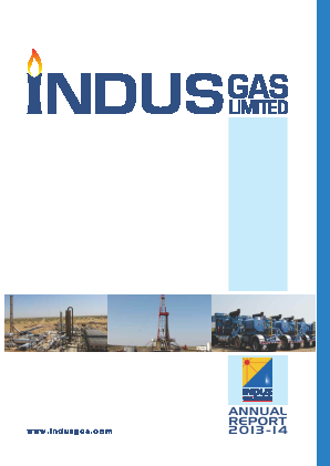 Indus Gas annual report 2014