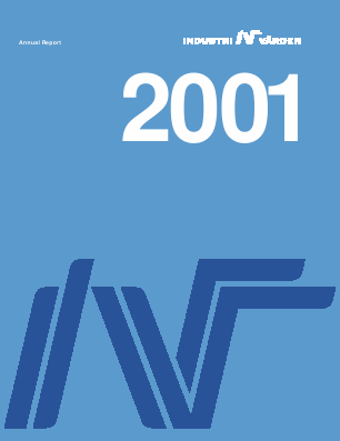 Industrivärden annual report 2001