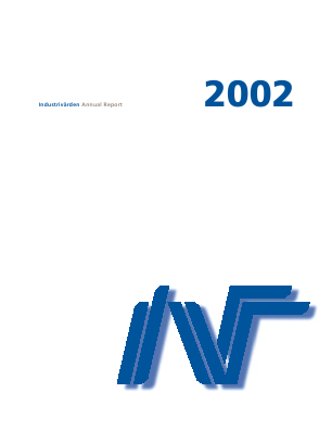 Industrivärden annual report 2002