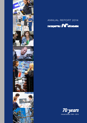 Industrivärden annual report 2014