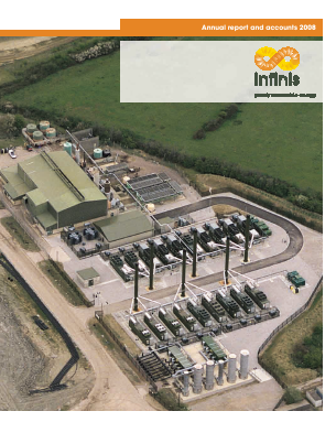 Infinis Energy Plc annual report 2008