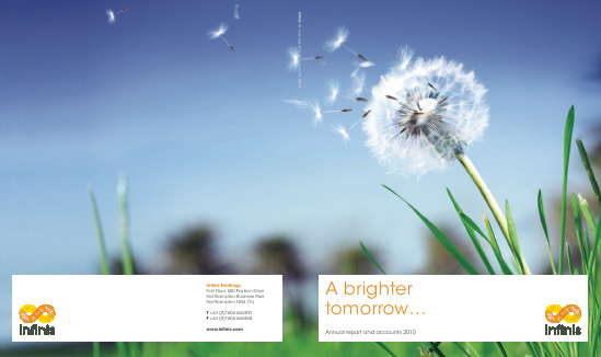 Infinis Energy Plc annual report 2010