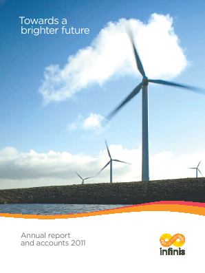 Infinis Energy Plc annual report 2011
