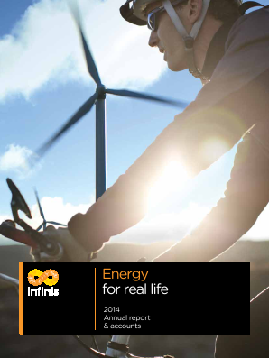 Infinis Energy Plc annual report 2014