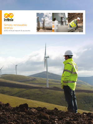 Infinis Energy Plc annual report 2015