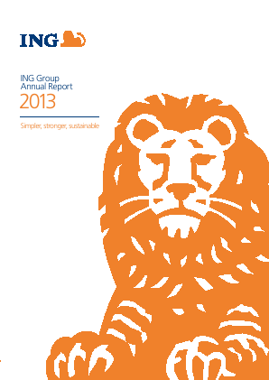 ING annual report 2013