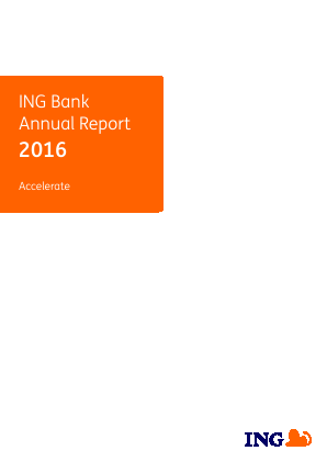 ING Group annual report 2016